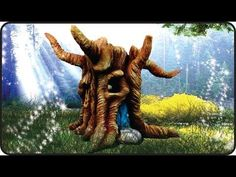 ❣DIY Fairy Garden Log House Jar❣ - YouTube