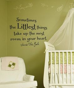 My future babies room will be in classic Pooh (not the red shirt Pooh, though I like him too)