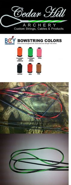 Strings 181305: Bow String And Cable Set For Any Compound Bow 1 Or 2 Select Colors Bcy X Special -> BUY IT NOW ONLY: $43 on eBay!