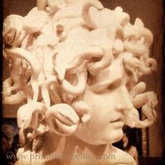 Bernini's Madusa residing at the Legion of Honor, San Francisco.