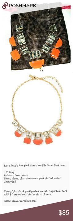 Kate Spade Necklace (NWOT)(4th of July SALE) Please see picture for details. kate spade Jewelry Necklaces