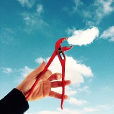 Imaginative Instagrammer Creates Playful Scenes With Photos Of Clouds