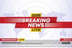 Breaking news template design , Green Screen Background Images, Green Screen Backgrounds, Iphone Wallpaper Photos, Gold News, Live Television, Live Breaking News, News Studio, Sale Banner, Vector Photo