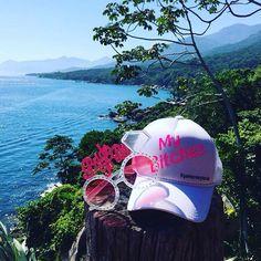 Bom dia My Bitches ☀️ Cadê o sol?!  #praia #MyBitches #bone #bonepme #boné #praia #despedida #casamento #noiva #bride #GameOverGle #IlhaBela #despedidanapraia #BridetoBe