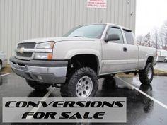 2005 Chevrolet Silverado 1500 LS Lifted Truck
