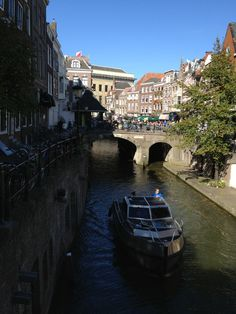 Utrecht was typically charming when I was passing through