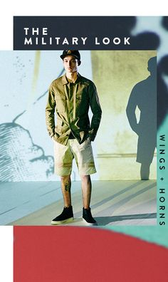 Men's Trend: Spring 2016 Trend Report > The military look from wings + horns and more | All The Rail at #Nordstrom #GreenHills #TN #Fashion #MichelleSchwantes