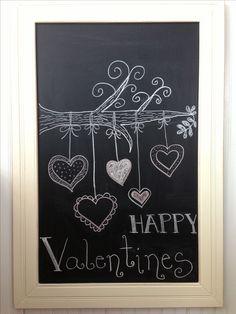 Valentines Day Chalkboard