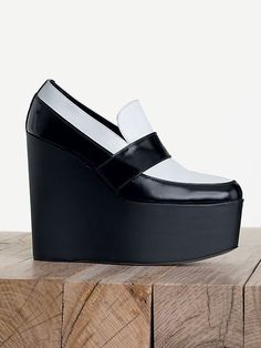CÉLINE fashion and luxury shoes: 2013 Fall collection - Wedge - 4