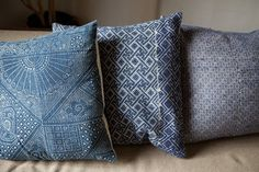 """Remind me of the beautiful cushions at Fraser's """"Outpost Cafe"""" in Van!"""