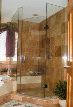 photos of showers | Bathroom Shower Designs Photos, Bathroom Showers