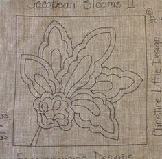 waiting for someone like you to be inspired to create a fabulous heirloom!we do custom designing. Embroidery Flowers Pattern, Embroidery Art, Cross Stitch Embroidery, Rug Hooking Designs, Rug Hooking Patterns, Punch Needle Patterns, Rug Inspiration, Hand Hooked Rugs, Wool Art