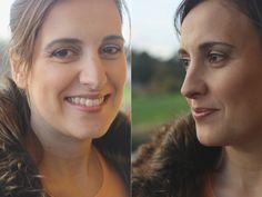 Registos fotográficos do resultado final do Projeto 100 mulheres/100 maquilhagens Mary Kay da Andreia Costa.