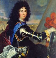 Philippe I of France, Duke of Orléans by Corneille the Elder (Versailles) brother of Louis XIV, wearing armour with fleur-de-lys of the Sash of the Order of the Holy × 109 cm Louis Xiv, Versailles, Mademoiselle De Maupin, Duc D'anjou, Bourbon, David Painting, Ludwig Xiv, Web Gallery Of Art, French Royalty