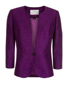 Jacques Vert Collarless Jacket