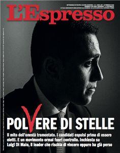 La copertina dell'Espresso in edicola da domenica 18 febbraio