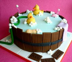 Barrel baby shower cake by Star Bakery (Liana), via Flickr