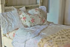 Beautiful mini linens by court of gypsies...