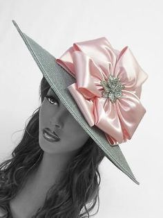 Katie-Church-Kentucky-Derby-Hat-Ashro-Ascot-Mother-of-Bride-Wedding-MORE-COLORS
