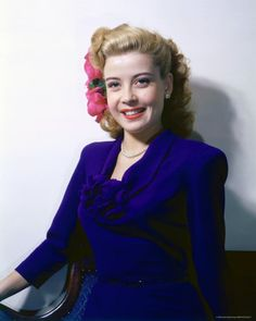 Gloria DeHaven was the daughter of actor-director Carter DeHaven and actress Flora Parker DeHaven, both former vaudeville performers. Description from silverscreenoasis.com. I searched for this on bing.com/images