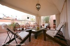 Terrasse - Ryad Oasissime - Marrakech