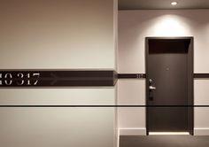 Détail corridor, La Fabrique 125 par Humà Design, Forme Studio Architectes et Workshop architecture + design, Montréal, Québec. Source : v2com.