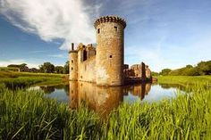 size: Stretched Canvas Print: Caerlaverock Castle Scotland : Using advanced technology, we print the image directly onto canvas, stretch it onto support bars, and finish it with hand-painted edges and a protective coating. Scotland Castles, Scottish Castles, Castle Backdrop, Window Photography, Medieval Fortress, Fairytale Castle, Loch Lomond, Nature Water, Abandoned Castles