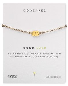 Dogeared Good Luck Elephant Bracelet | Bloomingdale's