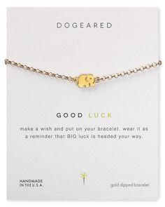 Dogeared Good Luck Elephant Bracelet | Bloomingdale's