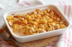Cheesy Cauliflower au Gratin Recipe - Kraft Recipes