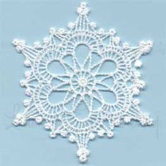 (lgs02401) Winter Jewel Snowflake 1 (design)
