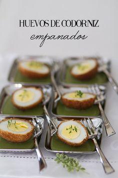 huevos codorniz empanados