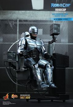 Hot Toys : RoboCop - RoboCop Collectible Figure with Mechanical Chair  (Docking Station) 1/6th scale collectible figure