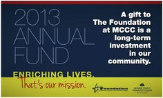 Unique Annual Appeal | The Foundation at MCCC ~ Annual Fund