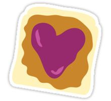 pbj, peanut butter, jelly, sandwich, sticker, stationary, doodle, illustration, heart, digital, graphic design, love