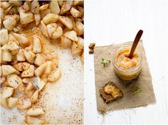 Roasted Applesauce with Sage