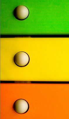 Orange / Yellow & Green