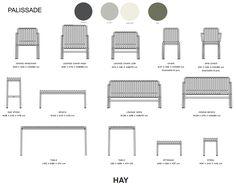 HAY PALISSADE Havemøbler - klik og se brochuren