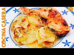 Pollo al horno al limón - Recetas de Cocina Casera - Recetas fáciles y sencillas