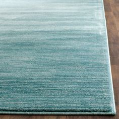 Featuring a timeless contemporary design, the Safavieh Vision Rug is skillfully crafted by power loom using the finest polypropylene pile. In modern color palettes, this versatile rug will protect your flooring and give any room a fresh, updated look. Aqua Rug, Aqua Area Rug, Modern Color Palette, Modern Colors, Solid Colors, Urban Chic Decor, Modern Area Rugs, Accent Rugs, Shabby Chic