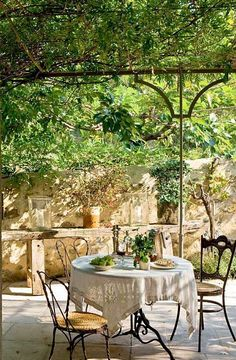 34 Refined Provence-Inspired Terrace Décor Ideas   DigsDigs