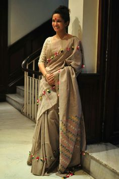 Simple and beautiful looking saree is like must have in the wardrobe