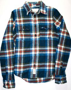 Vintage Early 90s Abercrombie & Fitch Plaid by VintageMensGoods, $24.00