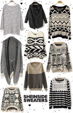 SheInside sweaters, winter sweaters