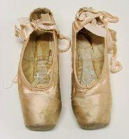 Giselle, 1964, ballet shoes