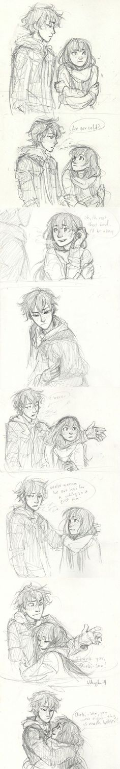 Chitanda Eru and Houtarou Oreki - Hyouka comic- by burdge Drawing Sketches, Art Drawings, Drawing Tips, Hyouka, Couple Drawings, Art Tutorials, Cute Art, Art Inspo, Amazing Art