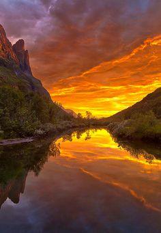 """coiour-my-world: """" Innerdalen, Norway """""""