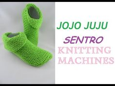 Have you been looking all over for the perfect circular knitting machine slippers? Knitting skill not needed for this pattern. Simply Knitting, How To Start Knitting, Easy Knitting, Loom Knitting, Addi Knitting Machine, Circular Knitting Machine, Knitting Machine Patterns, Stitch Patterns, Crochet Patterns
