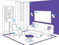 8 Tricks To Make Any Room Feel Bigger is part of Small Living Room Colors - Tiny space No problem Listen to this wisdom and you'll swear that someone snuck in and added some serious square footage to your home Small Room Design, Big Design, House Design, Modern Design, Tiny Spaces, Small Rooms, Small Bathrooms, Interior Design Tips, Interior Decorating