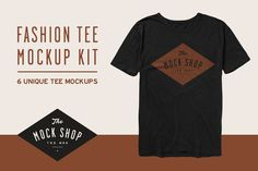 Fashion Tee Mockup Kit by The Mock Shop on @creativemarket